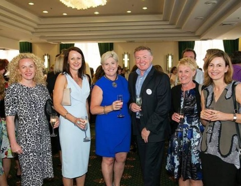 SHAW GIDLEY AND COLLEAGUES AT THE NEWCASTLE BUSINESS CLUB'S LISA WILKINSON LUNCH